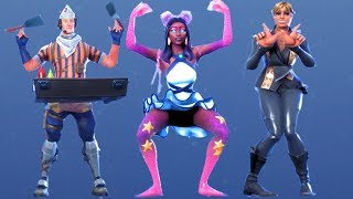 Fortnite All Dances Season 1-9 Updated to Crabby