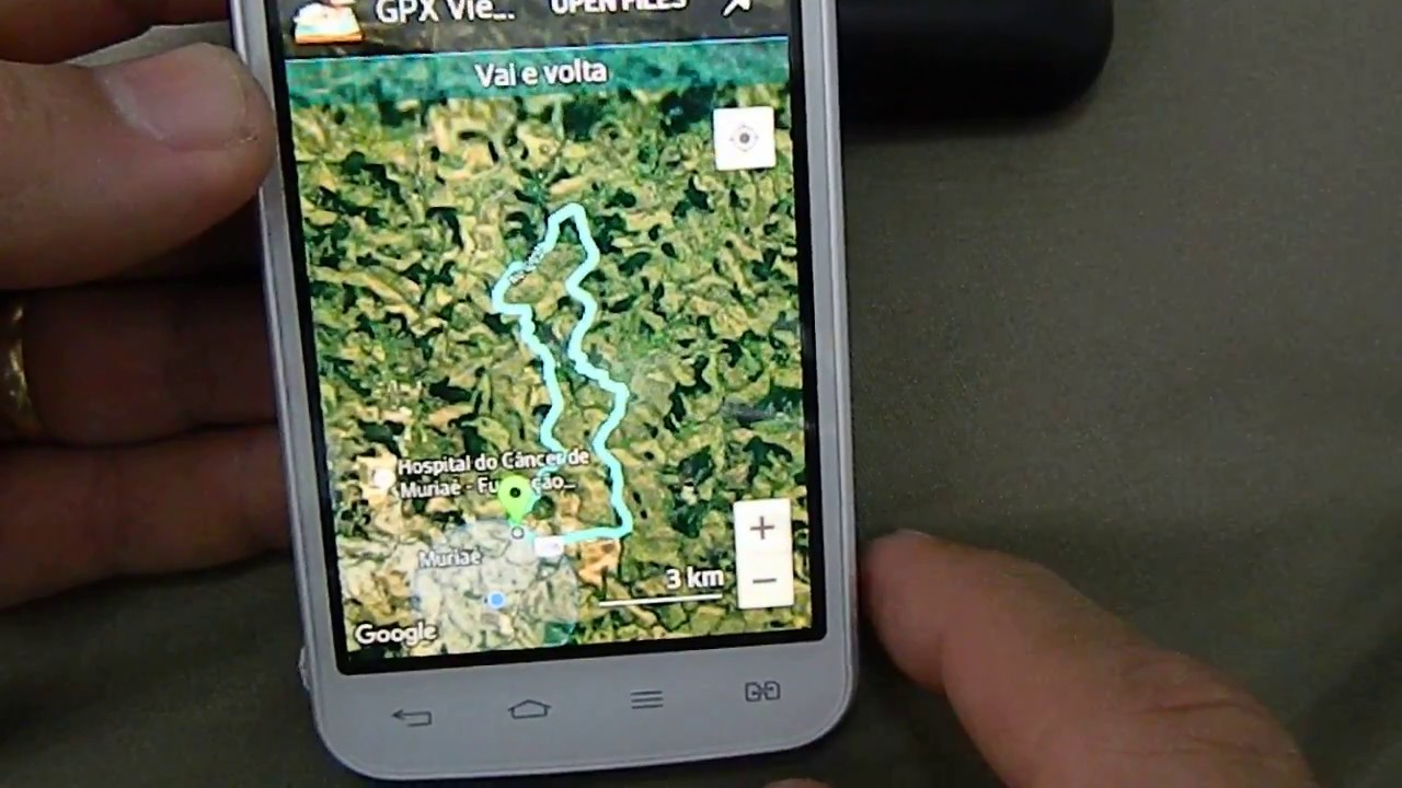 Gps tipo Garmin no smartphone - como fazer