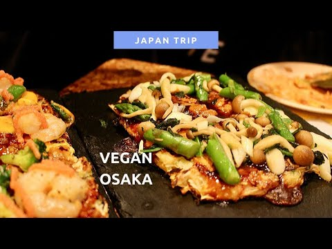 VEGAN JAPAN OSAKA – OKONOMIYAKI & COCO CURRY & NATURAL KITCHEN | Japan Trip Pt.2