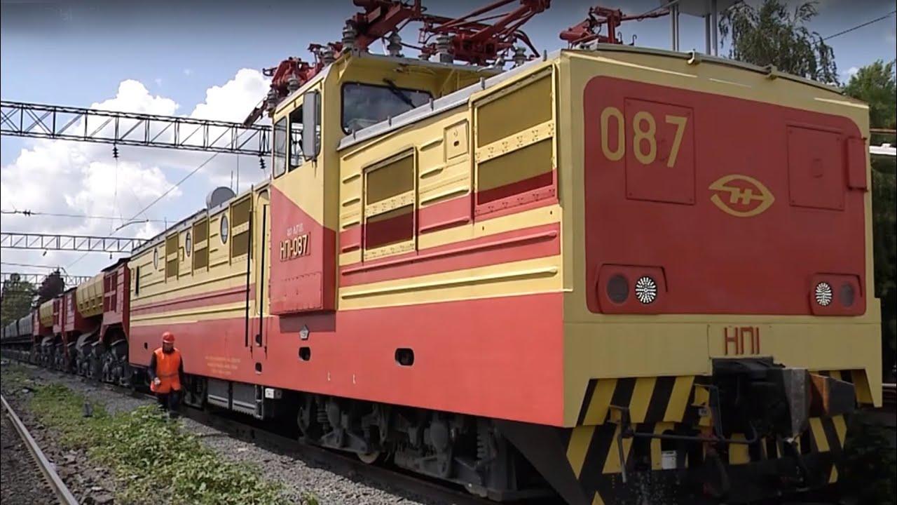 На Лебединский ГОК поступили новые электровозы