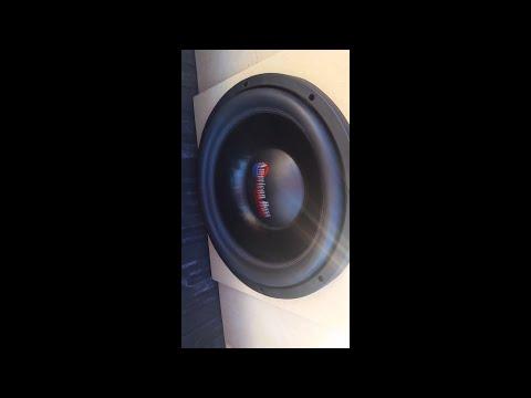 Single American Bass Xfl 15 In A Custom Box