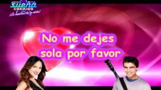 CONTIGO TODO (EIZA Y SANTIAGO) - KARAOKE - SUEÑA CONMIGO