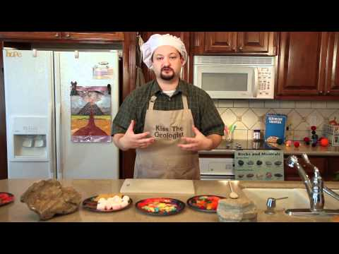 Geology Kitchen: The 3 Types of Rocks