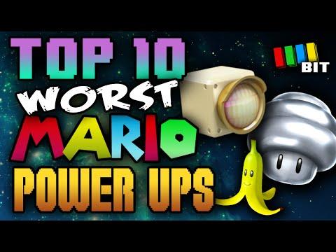 Top 10 WORST Mario Power Ups !