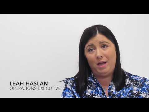 Leah Haslam - Operations Executive