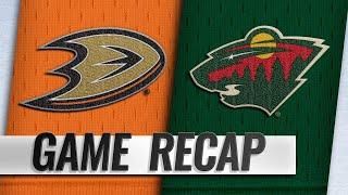 Gibson blanks Wild as Ducks end 12-game losing streak