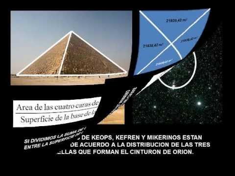 Misterios de la Gran Pirámide de Keops en Egipto