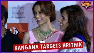 Kangana Ranaut Targets Hrithik Roshan Again  Bollywood News