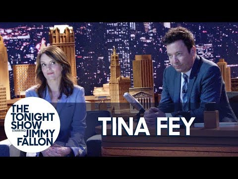 "Tina Fey Is Mad at Jimmy Fallon: ""He Knows What He Did"""