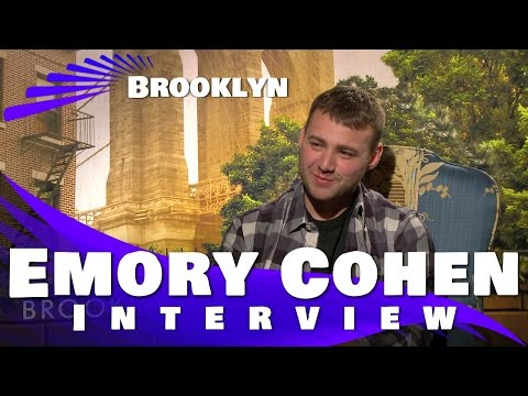 Emory Cohen Exclusive :Brooklyn