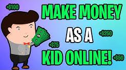 How To MAKE MONEY As A Teenager/Kid ONLINE In 2020! (Easiest Methods!)