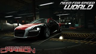 Need For Speed World Darius Audi R8 (NFS Carbon last Boss)