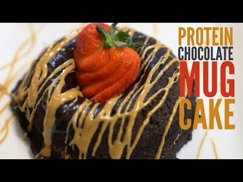 Chocolate Protein Mug Cake | Tiger Fitness