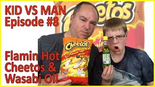 Kid vs Man ... Flamin