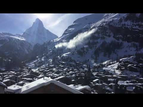 Avalanche at Zermatt - Late afternoon of March 7, 2018