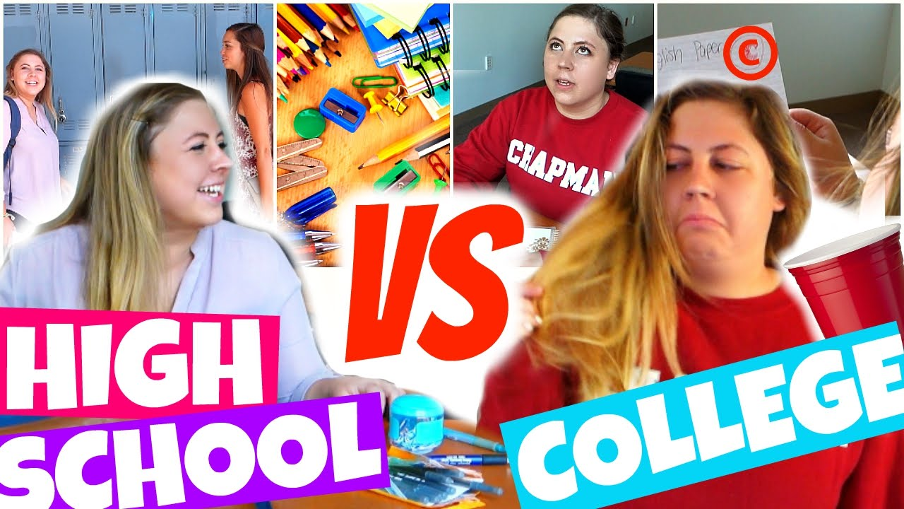 high school vs college kristee vetter high school vs college 2015 kristee vetter