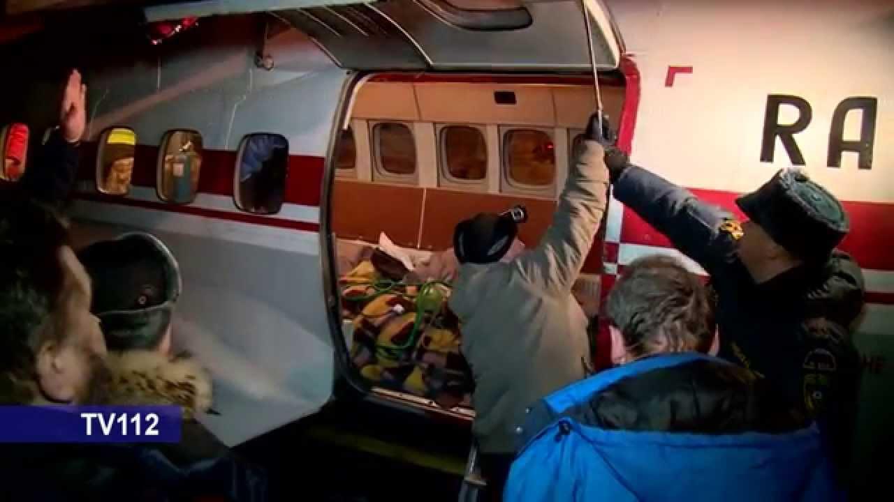 Четырех пострадавших в авиакатастрофе МИ-8 доставили из Нарьян Мара в Архангельск