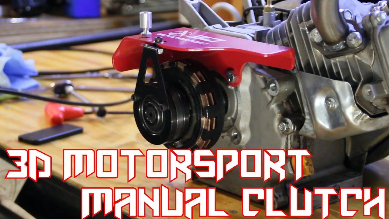Ended Predator 212 Go Kart Manual Clutch 3d Motorsport