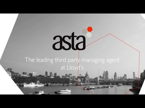 Asta - The leading third party managing agent at Lloyd's