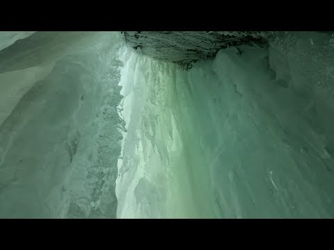 Parry Sound Ice Caves On Big Whitefish Lake