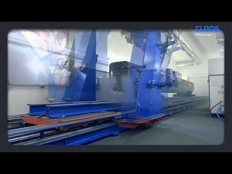 CLOOS - Laser-Schweißanlage für mehr Wettbewerbsfähigkeit bei Manitowoc