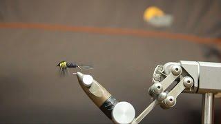 Как вязать  нахлыстовую мушку Монтана (Montana) -  смотреть видео