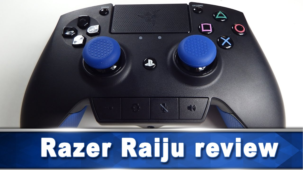 Razer Raiju Review Ps4 Controller Youtube The raiju is gonna be released on the 9th of december, but i got it a bit early. youtube