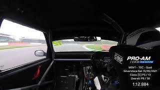 TDC - Silverstone National   Quali Lap (P3)   Renault Clio 182   15.05.21   1:12.884