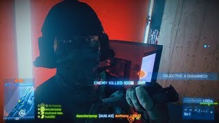 Battlefield 3 - Live Commentary - Rush on Operation Metro (BF3 Online Multiplayer Gameplay)