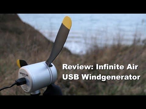 Review: TexEnergy Infinite Air Windgenerator (English subtitles)