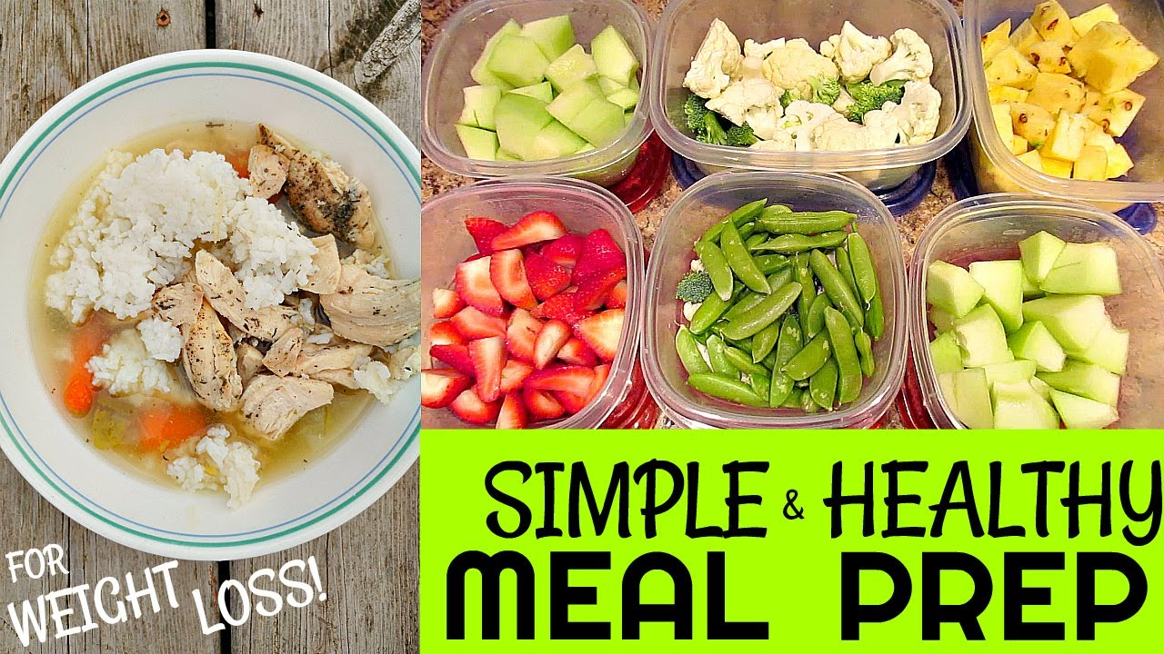 simple healthy meal prep for extreme weight loss