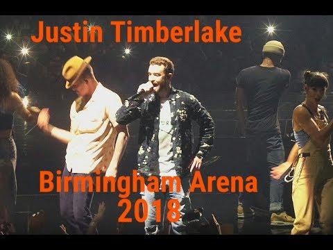 HD Justin Timberlake Concert Arena Birmingham UK 2018