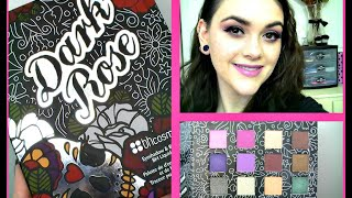 BH Cosmetics Dark Rose Palette First Impression & Review!!