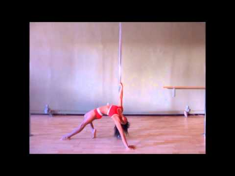 Pole Tutorial - handstand press to backbend flip by Nicole ThePole