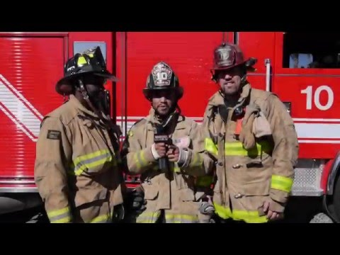 Celebrity Training Tip: Training with San Diego Fire Dept.