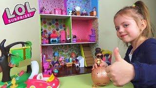 Будиночок для ляльок ЛОЛ Рідкісна лялька LOL у ЗОЛОТОМУ кулі CONFETTI POP LOL Dolls Surprise своїми руками