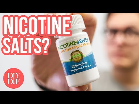 Nicotine Salts & How to Mix With Them #quicktips