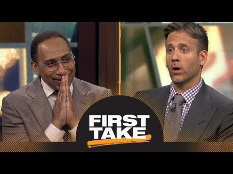 Stephen A. and Max debate: Is Saquon Barkley over-hyped? | First Take | ESPN