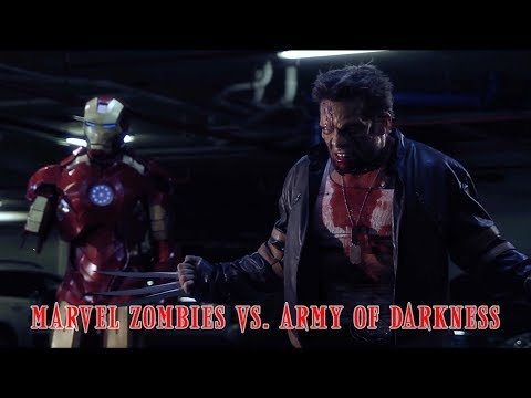 Marvel Zombies vs. Army of Darkness (EVIL DEAD FANFILM)