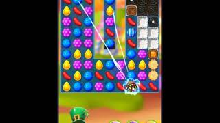 Candy Crush Friends Saga Level 381 - NO BOOSTERS 👩👧👦 | SKILLGAMING ✔️