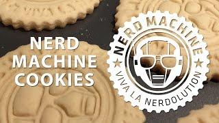 3D Printed Nerd Machine Cookie Cutter / Tasty Cookies!
