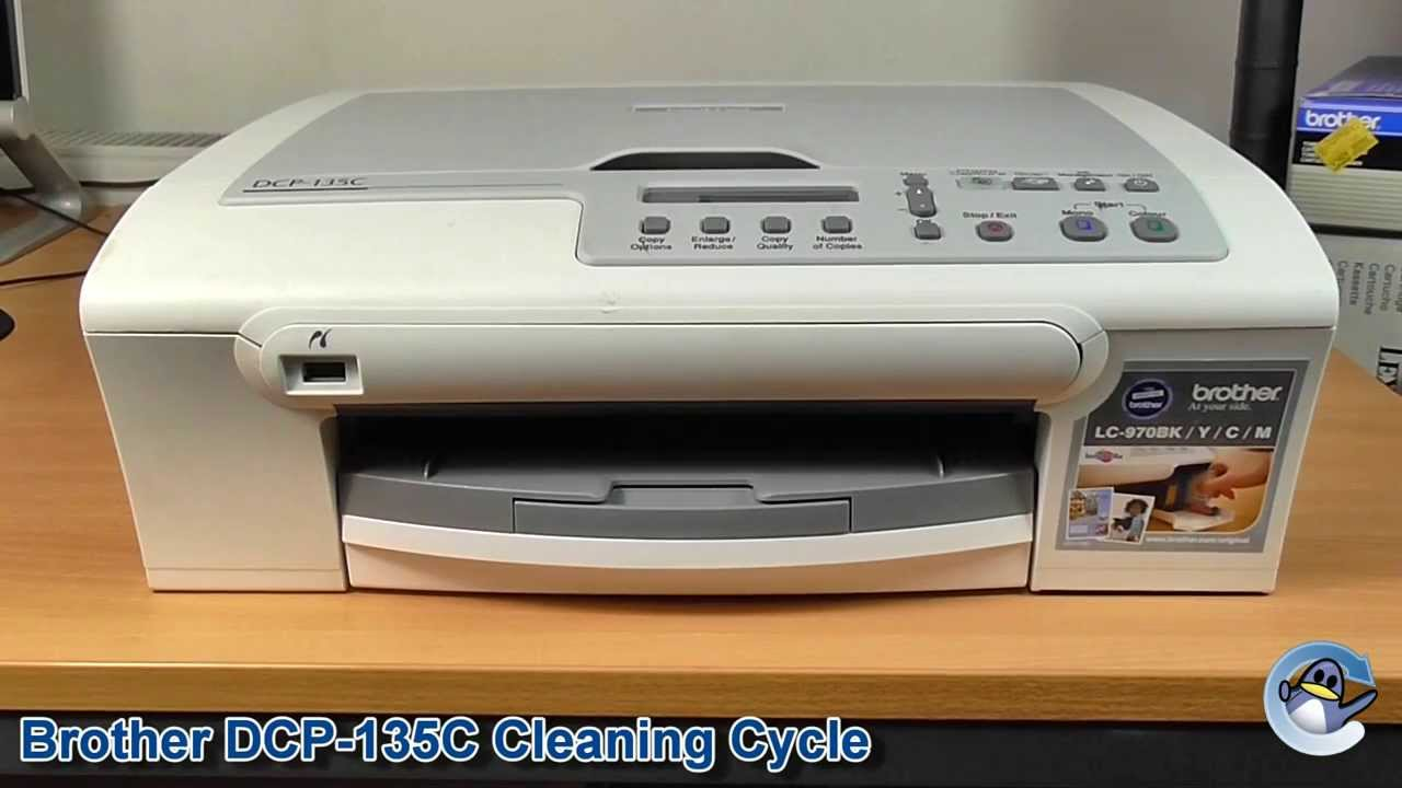 Brother DCP 135c Printer Driver Install and use the device