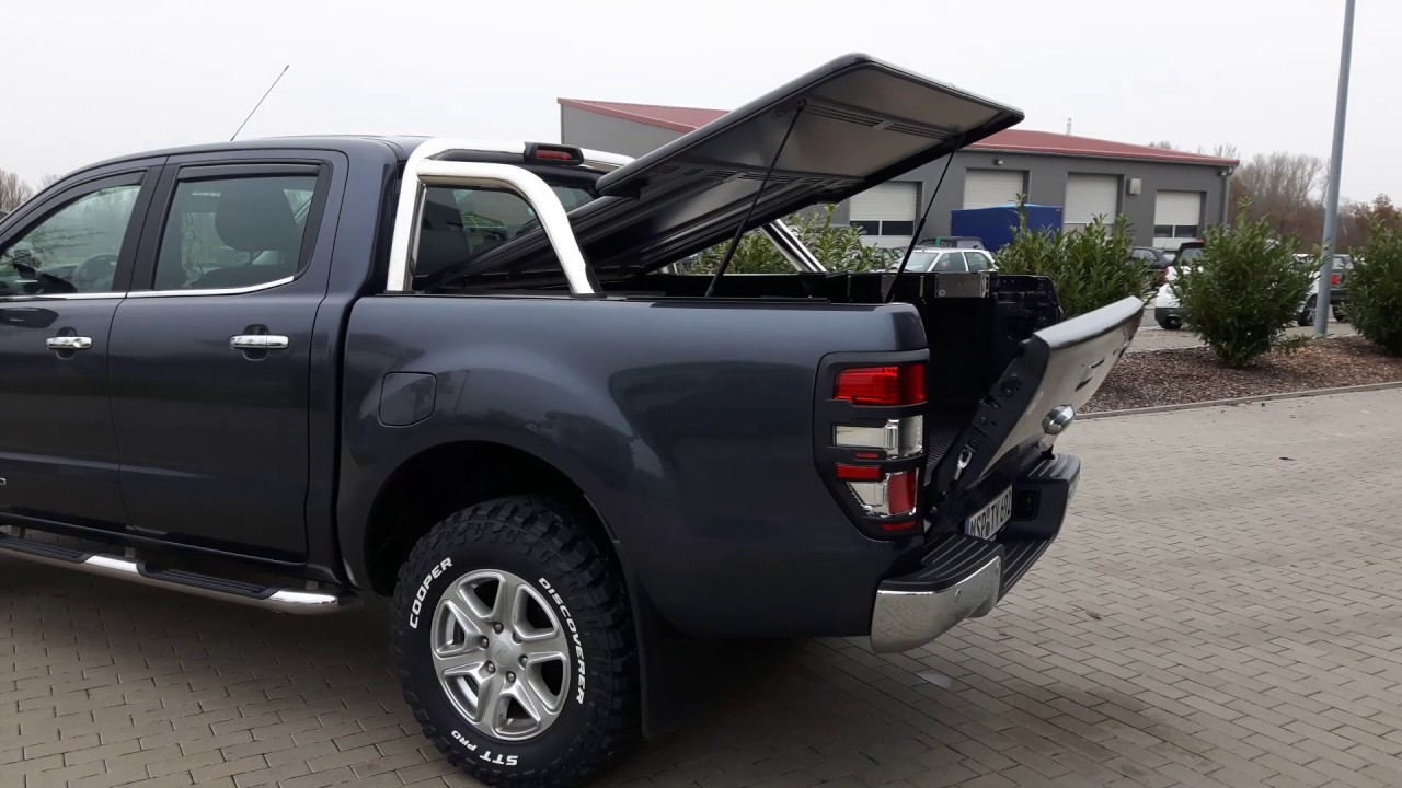 ford ranger limited rigidek laderaumabdeckung youtube. Black Bedroom Furniture Sets. Home Design Ideas