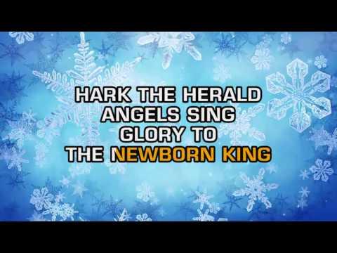 Traditional Christmas Songs - Hark! The Herald Angels Sing (Karaoke)