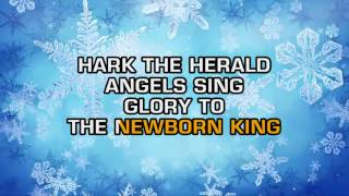 Traditional Christmas Songs - Hark! The Herald Angels Sing (Karaoke)