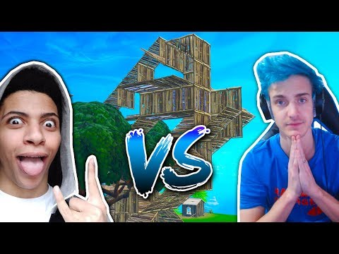 THE FORTNITE NINJA OF PS4 BUILD BATTLES THE MYTH OF PS4!!