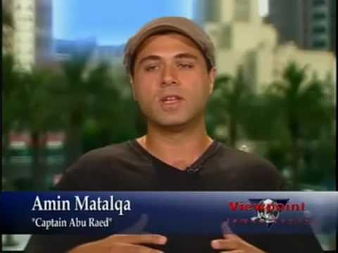 Amin Matalqa on Viewpoint discussing Captain Abu Raed