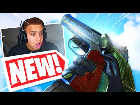 the NEW SYKOV PISTOL is OVERPOWERED in WARZONE! 🤯 (80 ROUND PISTOL)