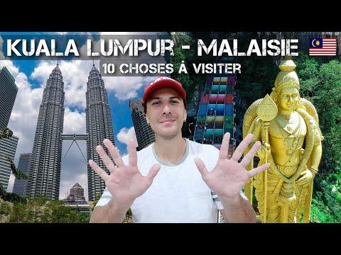 Que faire à Kuala Lumpur en Malaisie / Top 10 des choses à faire dans la ville