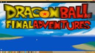 Roblox XYZ Exploiting - Exploiting on Dragon Ball Final Adventure